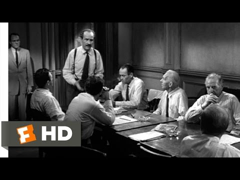 12 Angry Men (6/10) Movie CLIP - A Responsibility (1957) HD