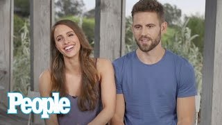 'Bachelor' Nick Viall & Vanessa Grimaldi Reveal Funny Engagement Ring Story | People NOW | People