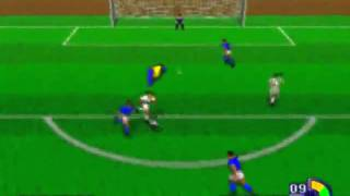 Worldwide Soccer Game Sample - Sega Saturn