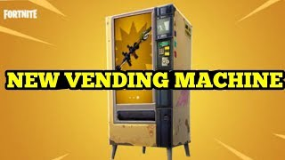 NEW VENDING MACHINE ON FORTNITE (LETS BUY US A GOLD HEAVY SHOTGUN)