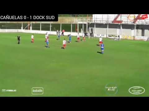 Primera C : CAÑUELAS 0 - 1 DOCK SUD (El Gol)