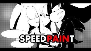Sonadow SPEEDPAINT. Little doujinshi (comics)