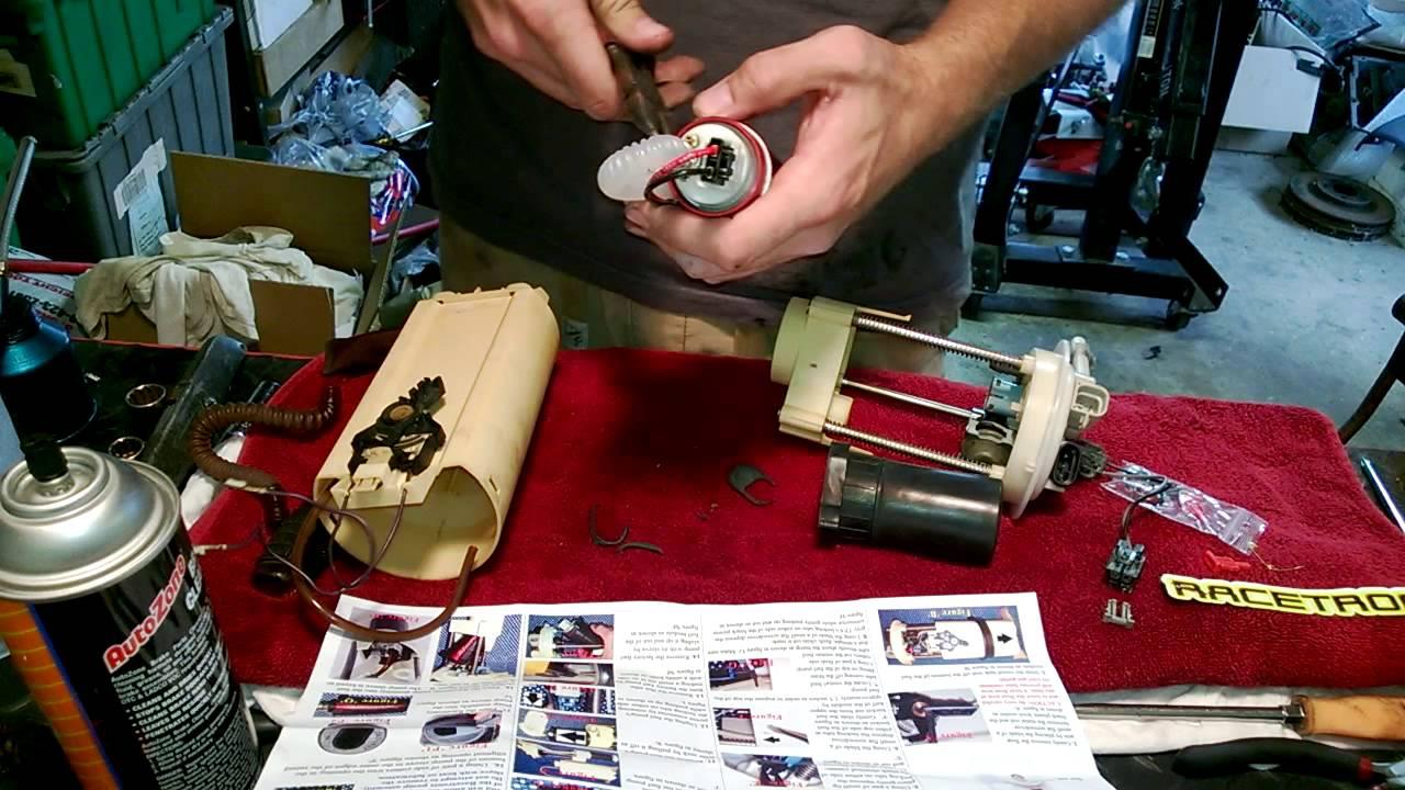 Racetronix Fuel Pump Install  9902 Fbody Fuel Sender
