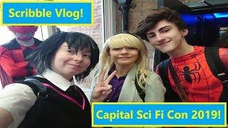 Scribble Vlog | Capital Sci Fi Con 2019!