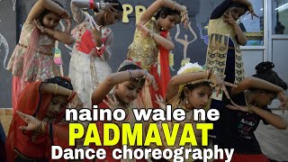 Naino wale ne | padmavat | Dance choreography | choreographed by chaman | Golden steppers