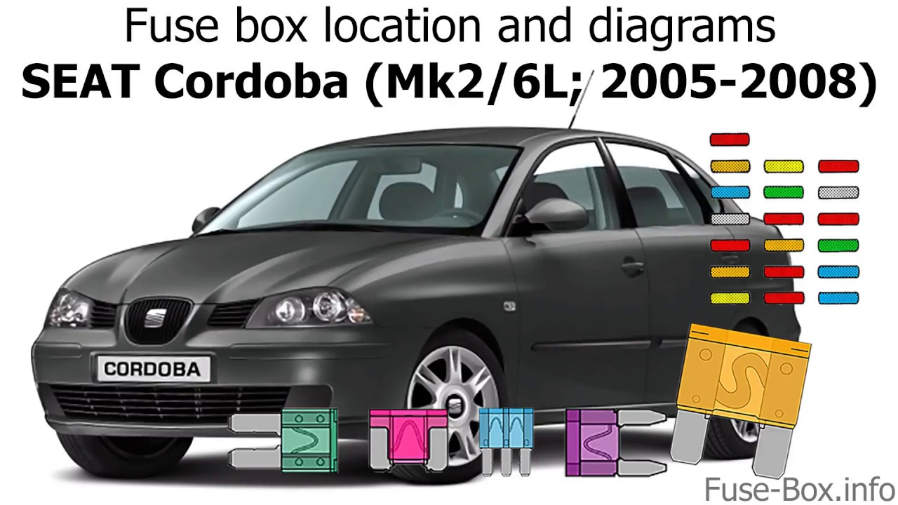 Fuse Box Location And Diagrams  Seat Cordoba  2005-2008