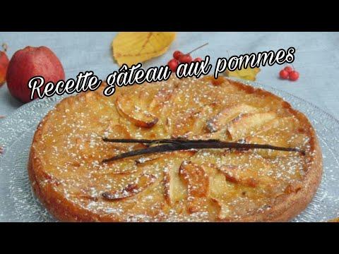 recettes-facile---gâteau-aux-pommes
