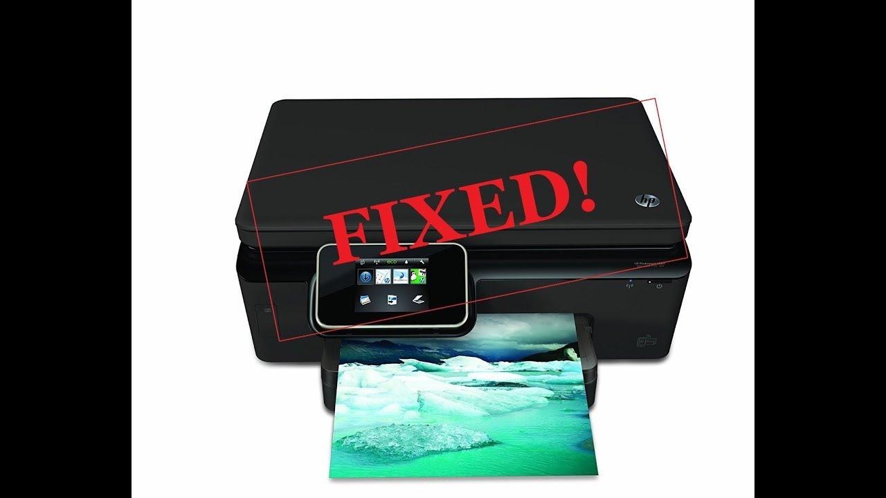 Hp photosmart 6520- Printhead Clog FIXED - ⬇️Link In Description⬇️