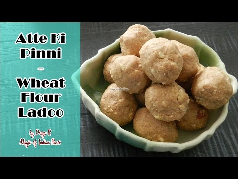 atte-ki-pinni-|-wheat-flour-ladoo-|-magic-of-indian-rasoi