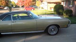 1969 Chrysler New Yorker Coupe with original 66, 000 miles.