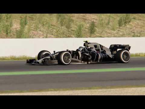 Assetto Corsa - RaceSim Studio Formula Hybrid 2017 Shakedown at Catalunya