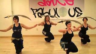 Dance Fabulous Bellydance Advanced Sword Workshop