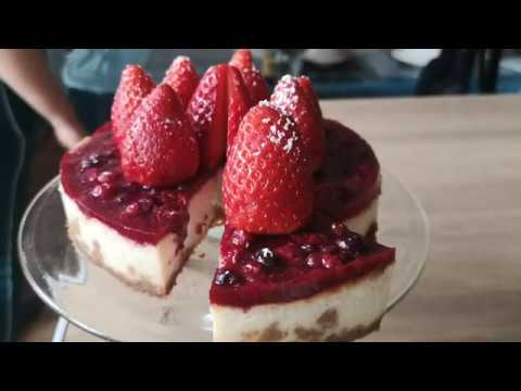 cheesecake-new-yorkais-fruit-rouge/-facile-a-réaliser/-léger