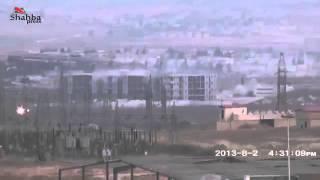 Сирия Террористы пытаются захватить тюрягу 2013