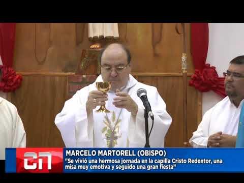 Palabras de nuestro obispo en la capilla Cristo Redentor