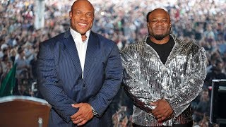 When Kai Greene and Phil Heath Go Out in Public