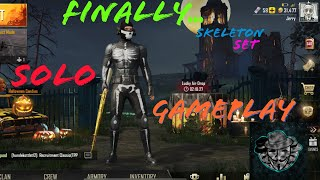 Skeleton Set PUBG Mobile Solo Gameplay