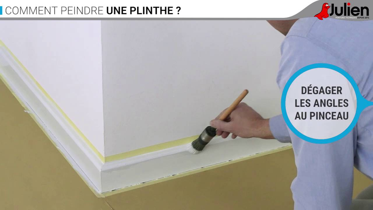 comment peindre une plinthe peintures julien youtube. Black Bedroom Furniture Sets. Home Design Ideas