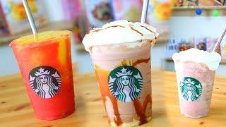 ¡¡Frappucinos de Starbucks Caseros INSPIRADOS EN POSTRES !! |RebeO