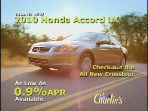 Charlie S Honda Spring Clearance 2010 Youtube
