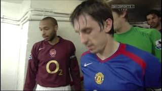 Arsenal 0-0 Manchester United PL 2005/06 FULL MATCH