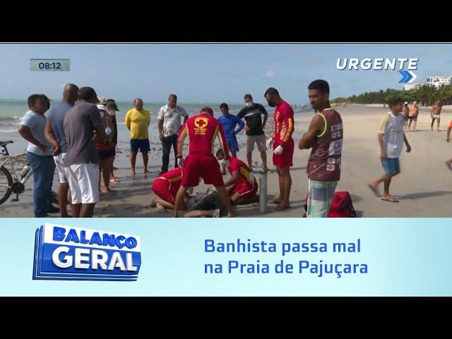 Hoje: Banhista passa mal na Praia de Pajuçara