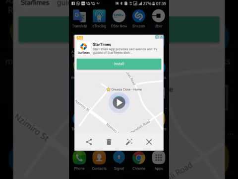 Send your GPS location coordinates from your Phone using Google Maps