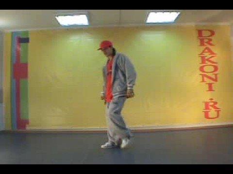 Обучающее видео hip-hop (хип-хоп): связка 1