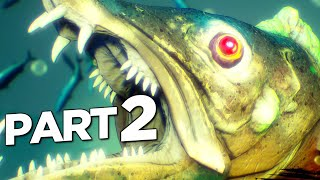 MANEATER Walkthrough Gameplay Part 2 - APEX PREDATOR (FULL GAME)