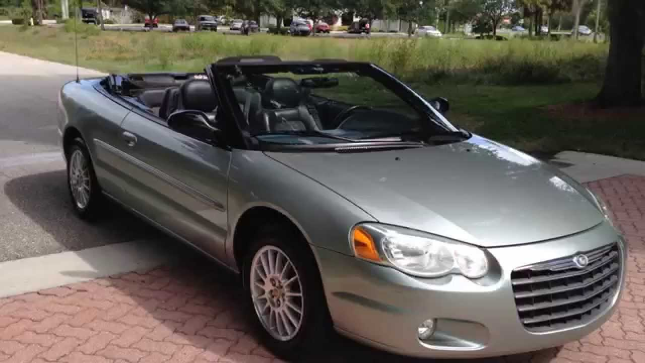 2005 Chrysler Sebring Touring Convertible View Our Cur Inventory At Fortmyerswa You