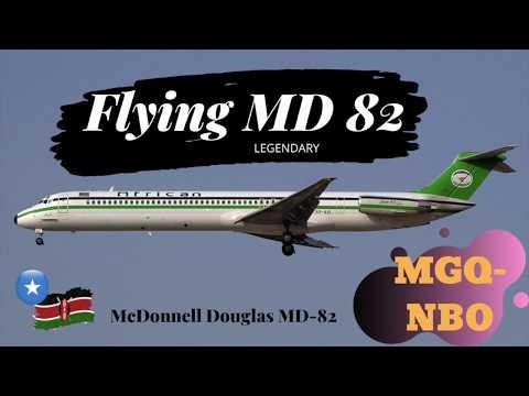 MC Douglas md82 #african express #somalia #mogadishu #nairobi #jkia