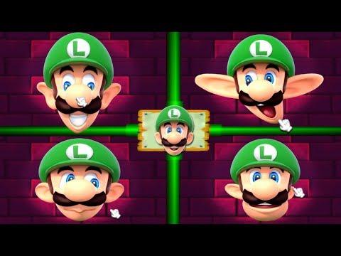 Mario Party 2 MiniGames - Mario Vs Luigi Vs Yoshi Vs Wario (Master Cpu)