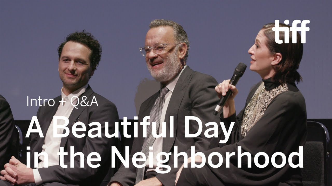 A Beautiful Day In The Neighborhood Cast And Crew Q A Tiff 2019 Youtube