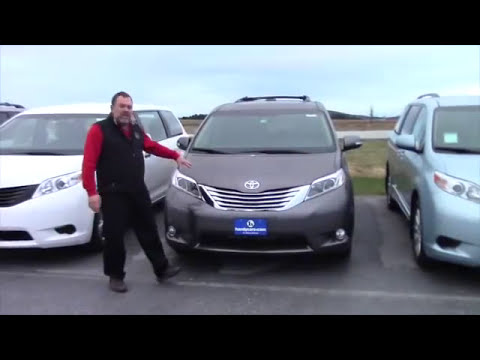 2016 Toyota Sienna Limited Premium For Brian From Doug