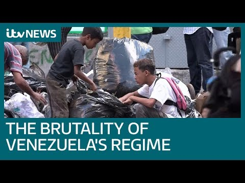 The brutality of President Maduro's regime in Venezuela | ITV News