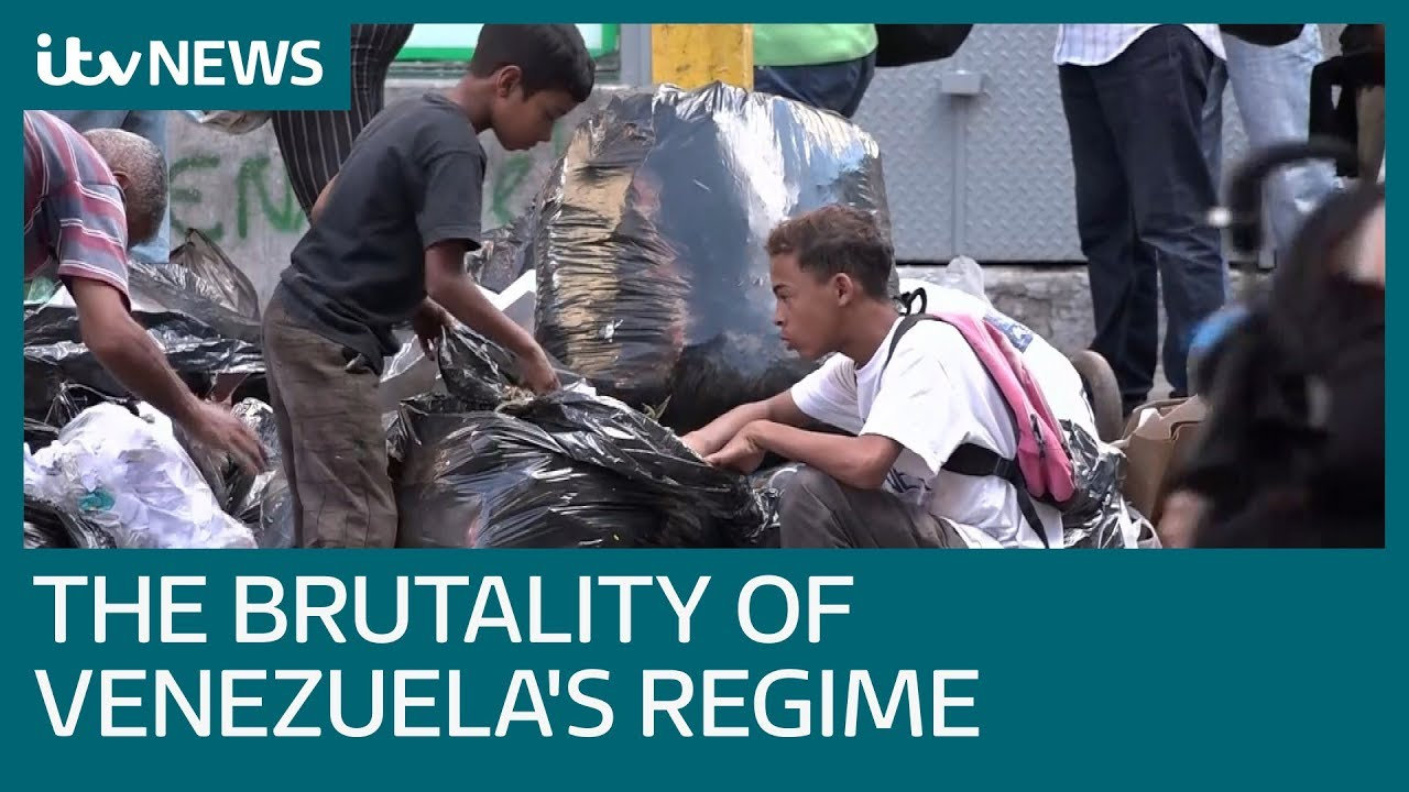 The brutality of President Maduro's regime in Venezuela | ITV News #Regime
