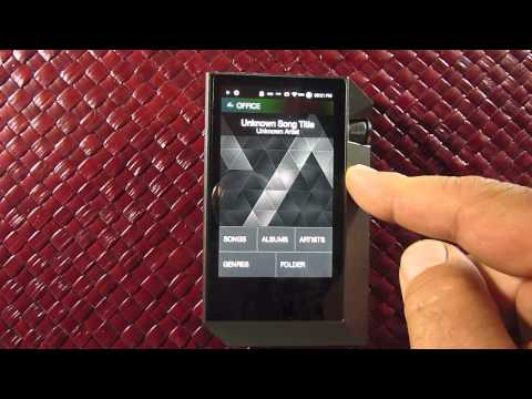 Astell Kern AK240 User Interface