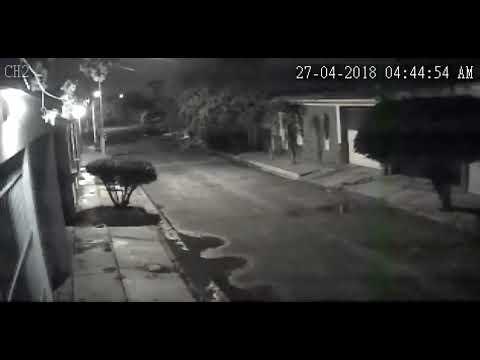 TEMBLOR EN CARABOBO CAMARAS DE SEGURIDAD 27 04 2018