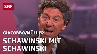 Schawinski bei «Schawinski» | Giacobbo / Müller | SRF Comedy