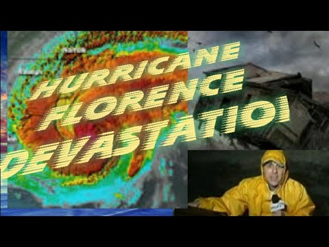 SCARY HURRICANE FLORENCE