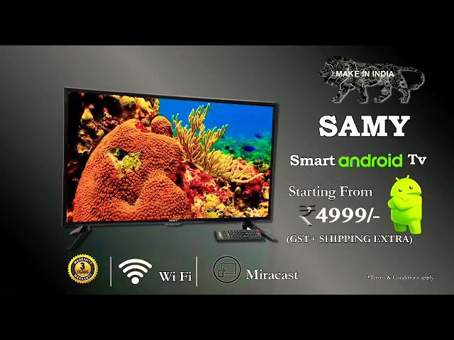 963448a615e8b Samy 32-inch Smart Android TV Priced at Rs.4