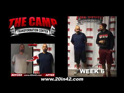 Bakersfield Weight Loss Fitness 6 Week Challenge Results - Efrain Z.