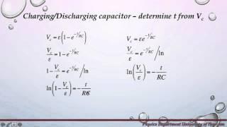Capacitance and RC Circuits