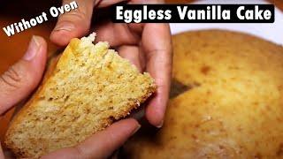 Eggless Pressure Cooker Cake | Eggless Sponge Cake | Kanak's Kitchen