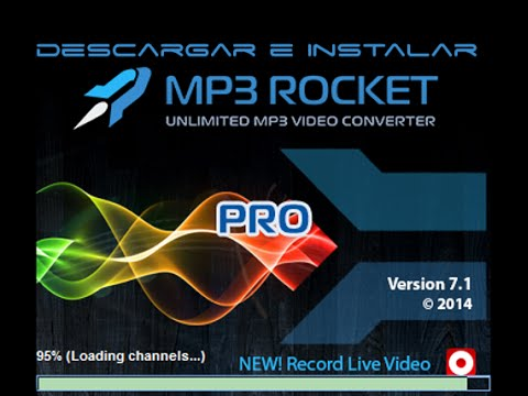 descargar e instalar  mp3 rocket pro 7.1.1 En español sin virus [HD]