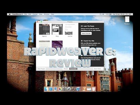 RapidWeaver 6 (web design software for Mac): Review