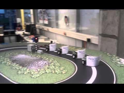 Platooning with robots, Eindhoven University of Technology