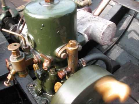 Körning med en Fors motor,Grästorpsmotor.