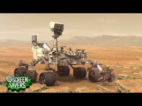 The New Screen Savers 160: Ancient Organic Matter Found on Mars