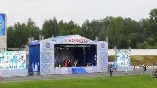 Грандиозный флешмоб 75 лет Соликамскбумпрому